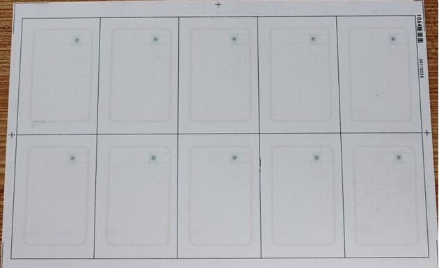 custom fudan f08 rfid inlay 13 56mhz 1k