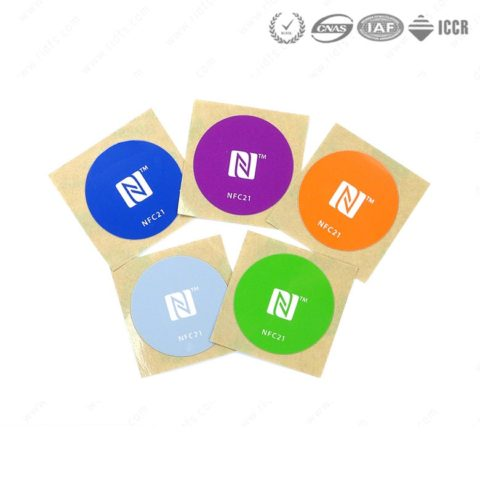 30mm MIFARE Ultralight EV1 Printable Nfc Tag for Ticket